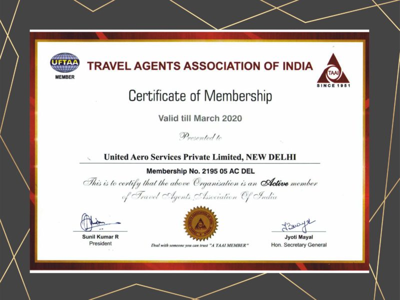 TRAVEL AGENT ASSOCIATION OF INDIA