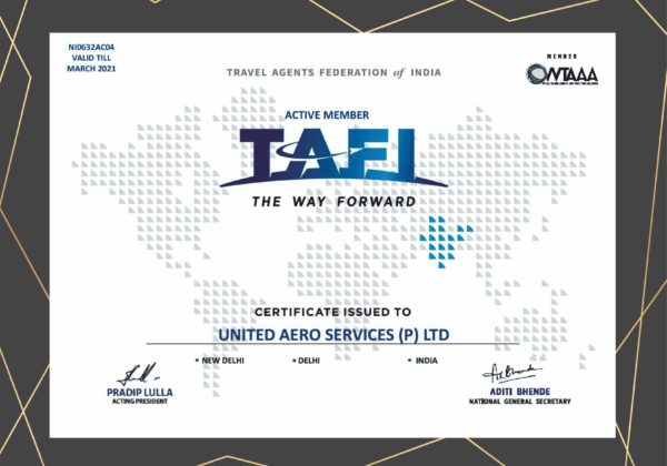 TRAVEL AGENT FEDERATION OF INDIA